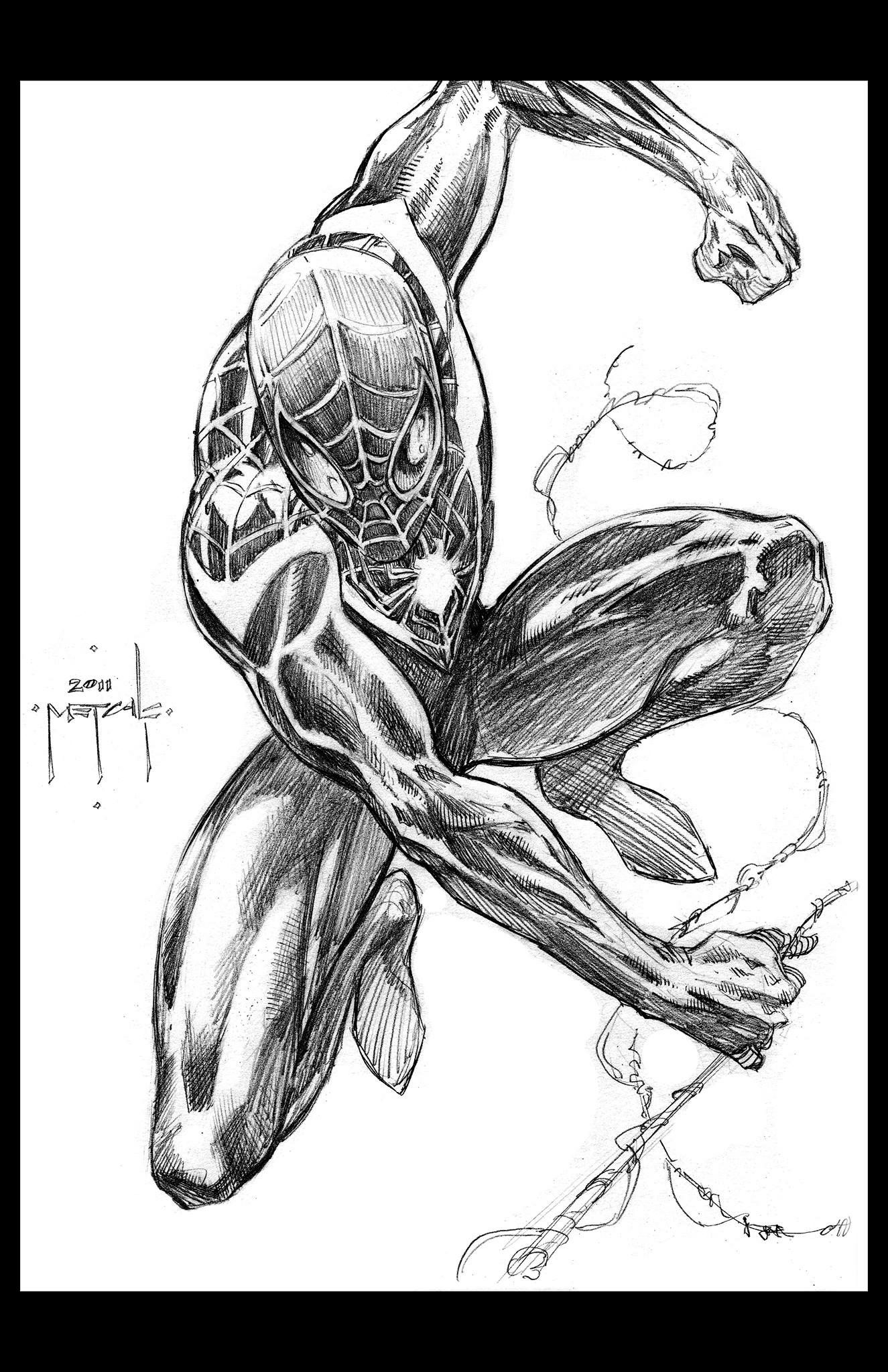 Spider Man Miles Morales By Jason Metcalf Spiderman