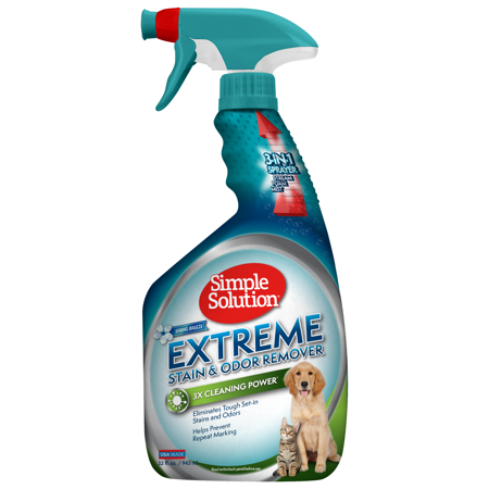 Simple Solution Extreme Pet Stain And Odor Remover Enzymatic