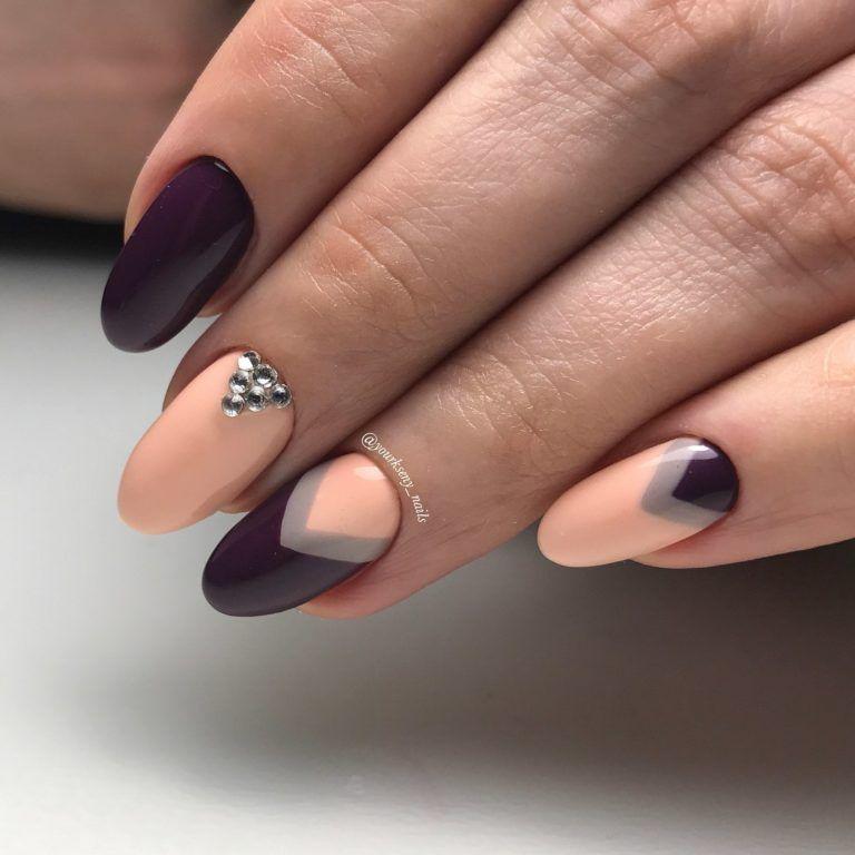 66 Gel Half-moon nails photos 2018 | Nail photos, Moon nails and Makeup
