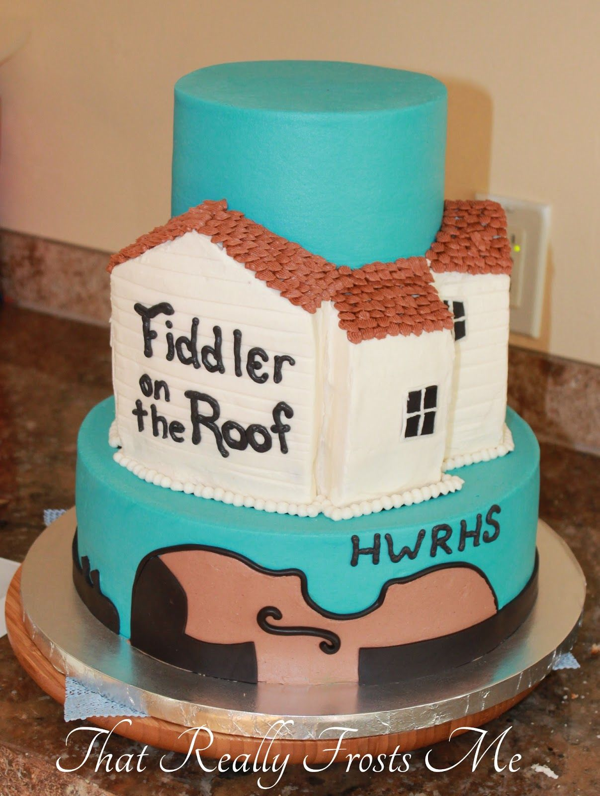 That Really Frosts Me Fiddler on the Roof Cake Tutorial