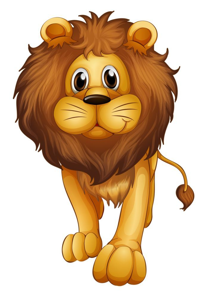 Pin By Valeria Gy On Lions Tigers Animal Drawings Cartoon Animals Animal Clipart