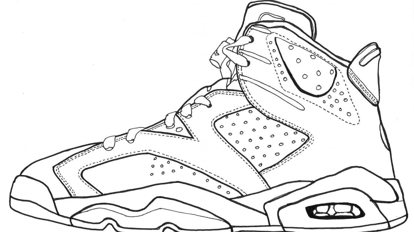 Shoe Coloring Page Athletic Shoes Coloring Pages For Adults Sports Vans Converse Davemelillo Com Sneakers Drawing Jordans Sneakers Sketch