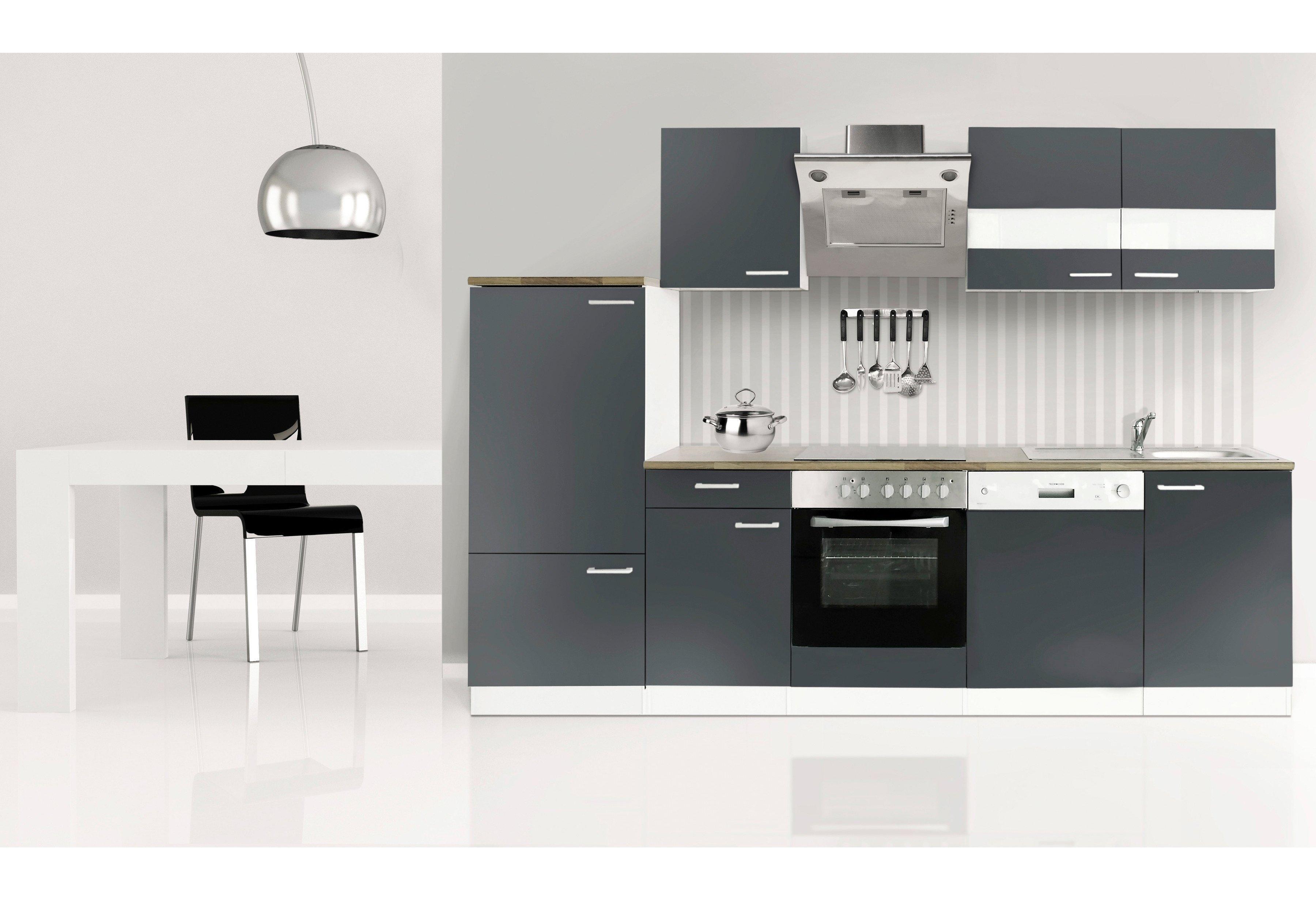 Respekta Küchenzeile mit EGeräten »Economy«, Breite 280