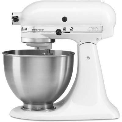 Kitchenaid Ultra Power 4 5 Qt Stand Mixer In White