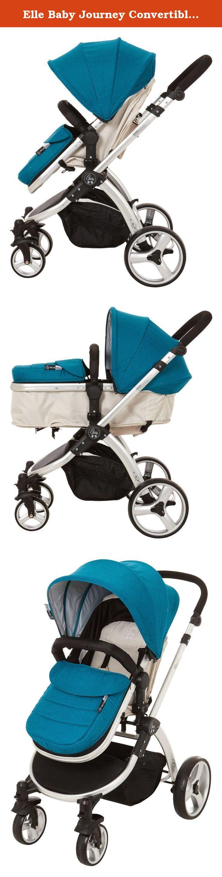 Elle Baby Journey Convertible Stroller, Teal. The Elle