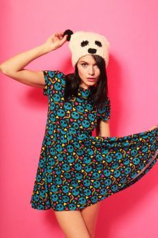 This alternative fashion Zombies Skater Dress is the perfect party dress!