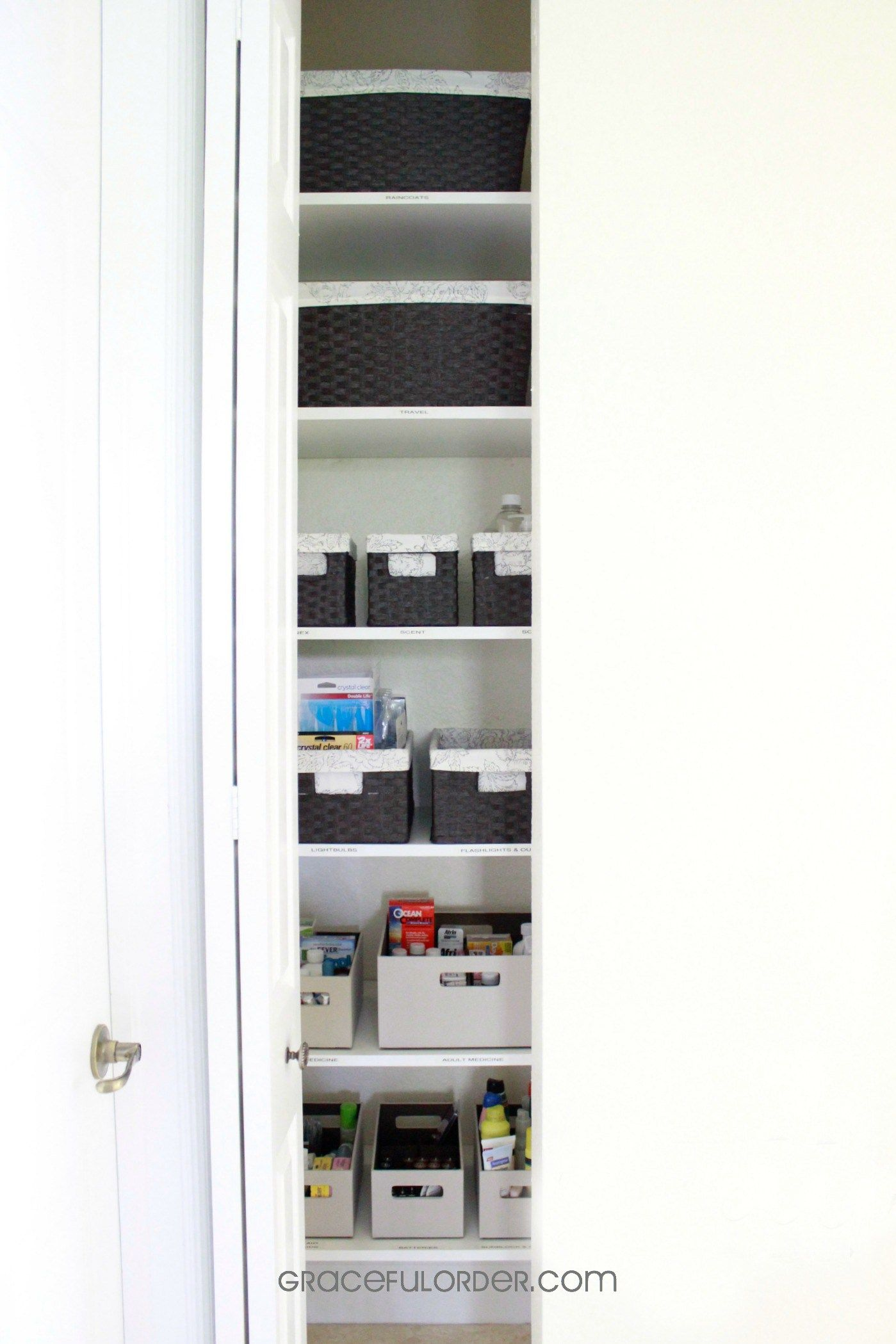 Organized Home Week 8