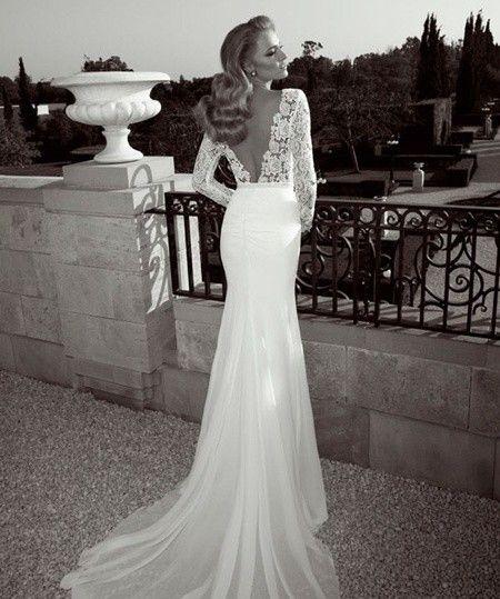 Vestidos novia con espalda descubierta