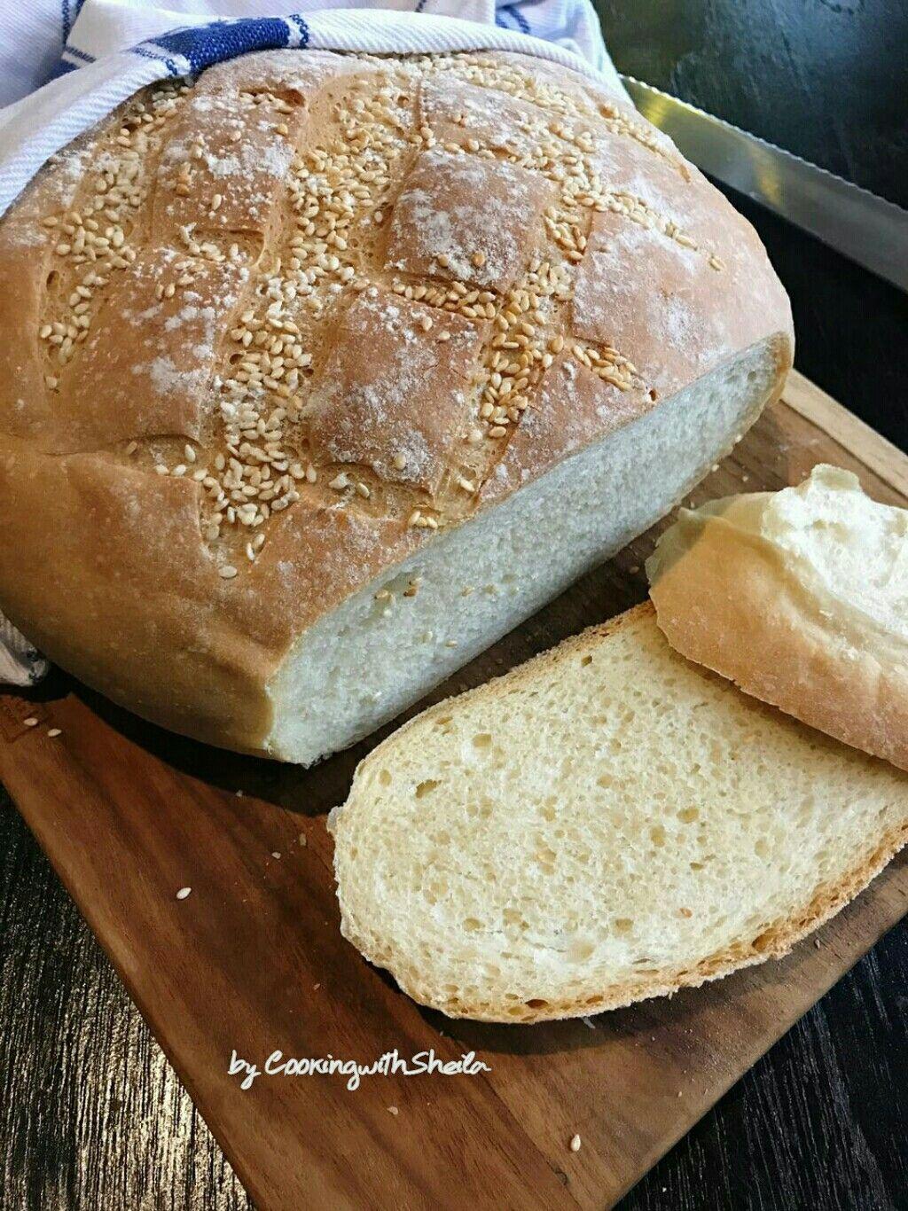 Crusty White Bread Roti Resep