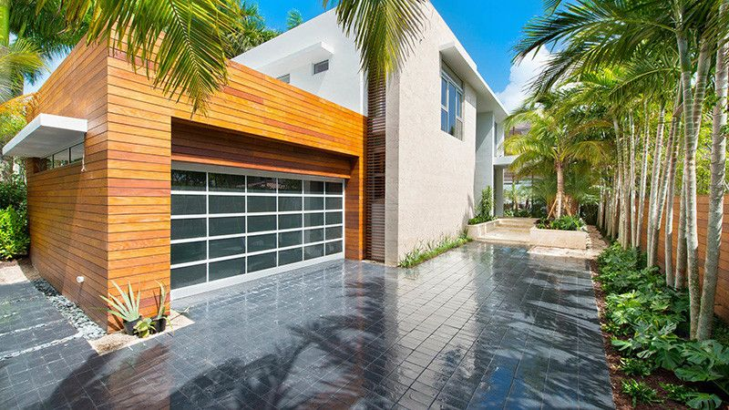 A contemporary home on DiLido Island in Miami Beach, designed by Max ...