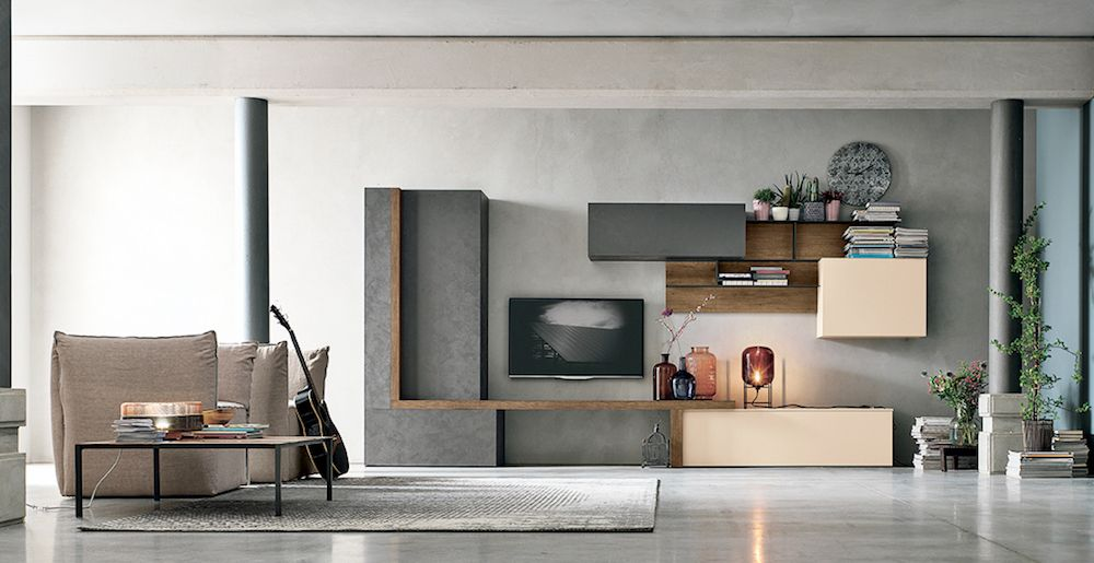 soggiorno moderno in metallo provincia torino   Soggiorni ...