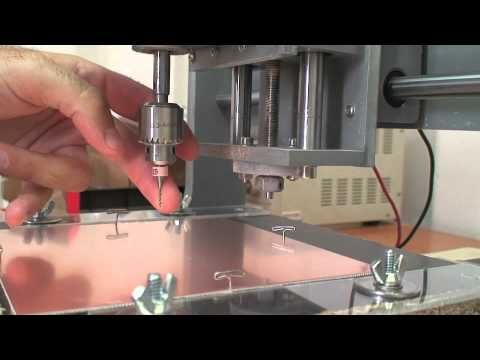 Demo: How to make low-cost double-sided PCBs with CNC PCB