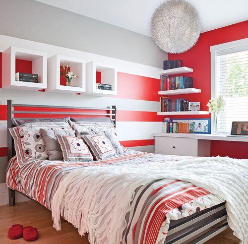 Peinture: 15 couleurs ultratendance | Pinterest | Peinture rouge ...