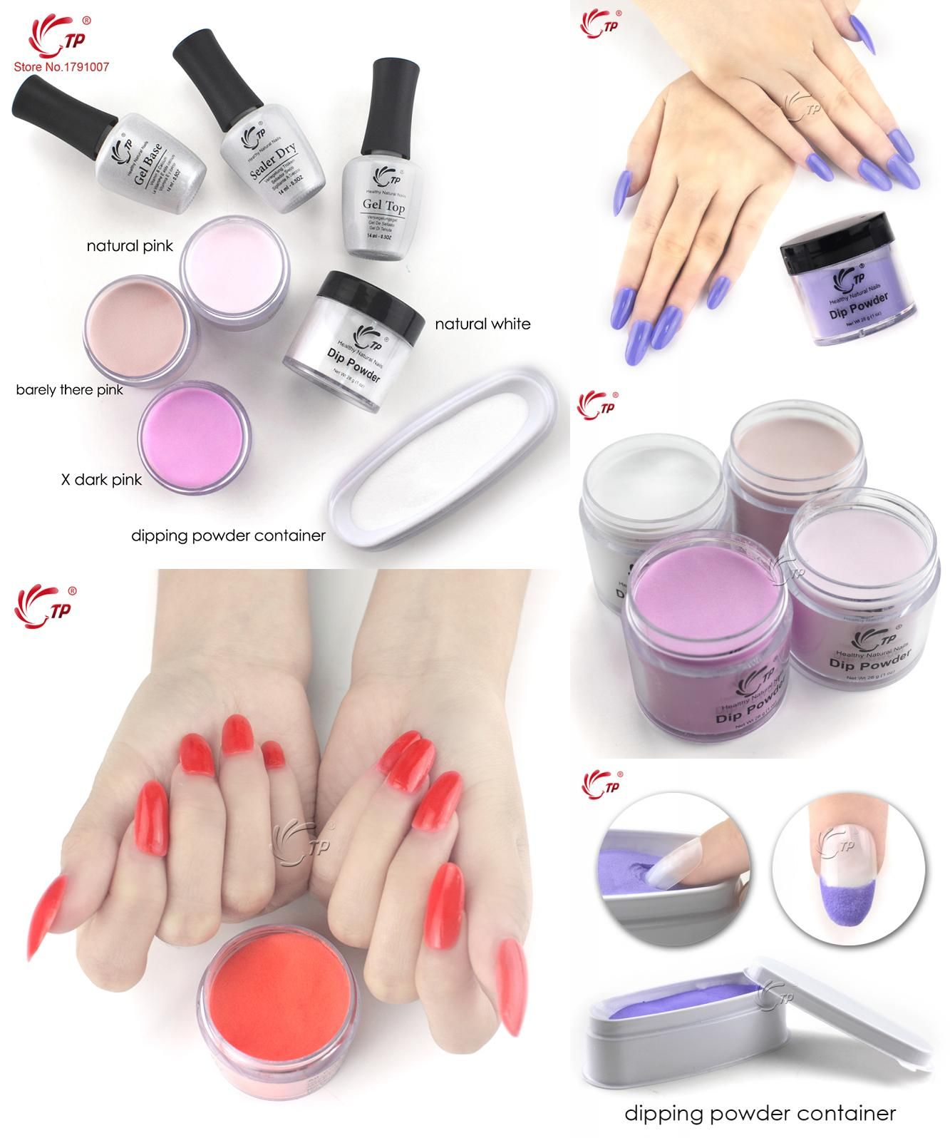 Visit to Buy] 28g/Box French White Nude Dipping Powder Without Lamp ...