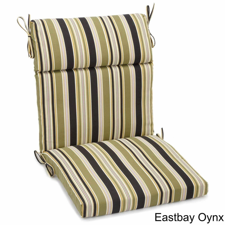 Blazing Needles 42 X 20 Inch Designer Outdoor Chair Cushion 42 X