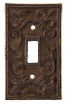 Cast Iron Single And Double Switch Plate Cover Rustic