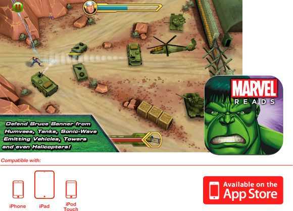 Avengers Origins: Hulk - iPad/iPhone