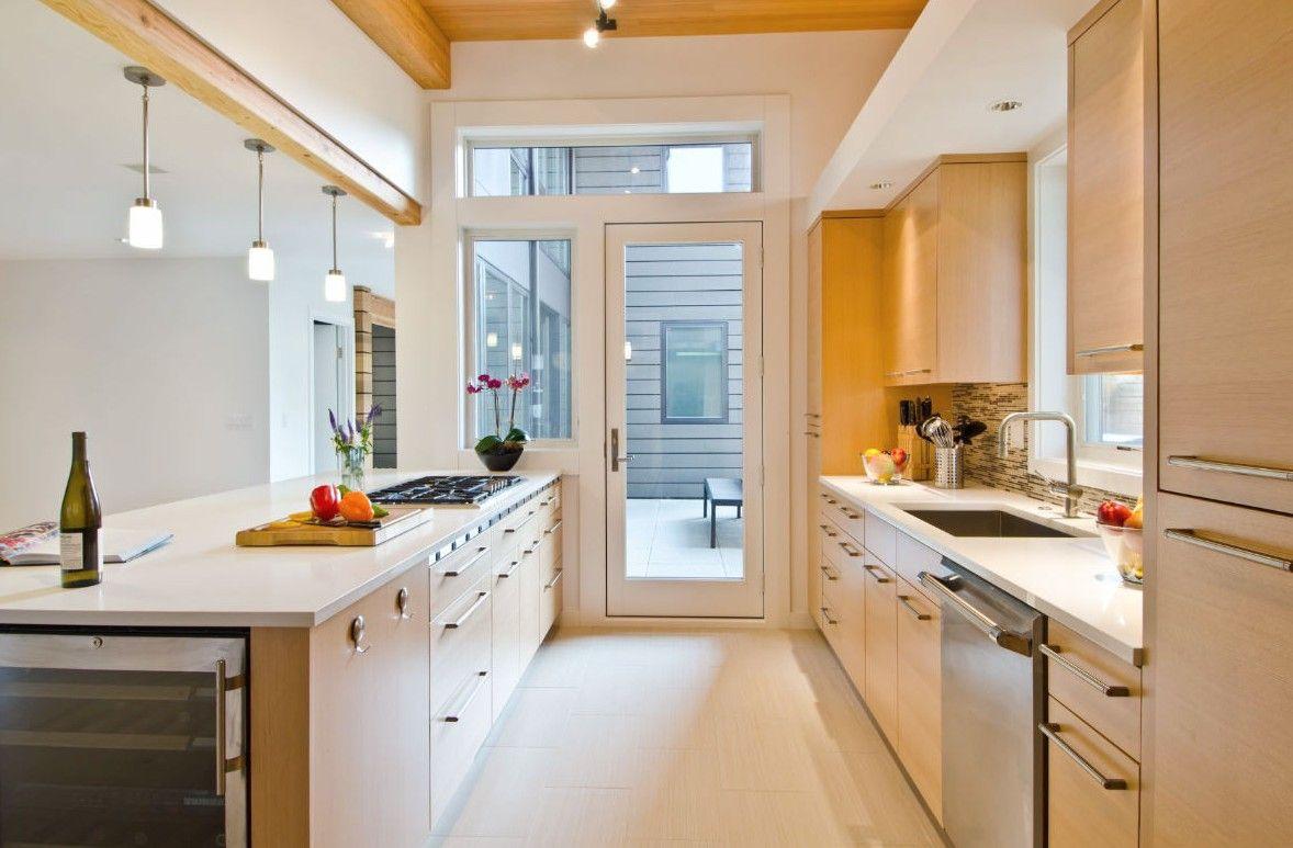 30 Trendy Galley Kitchens Design Ideas