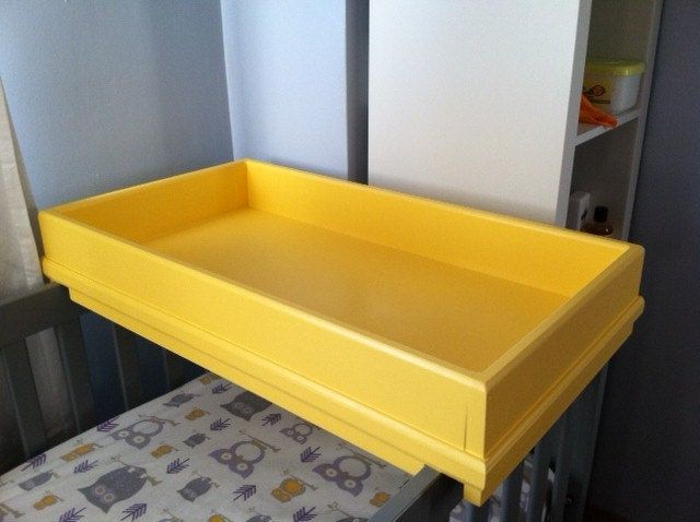 baby changing table tray. $175.00, via etsy. | products i love