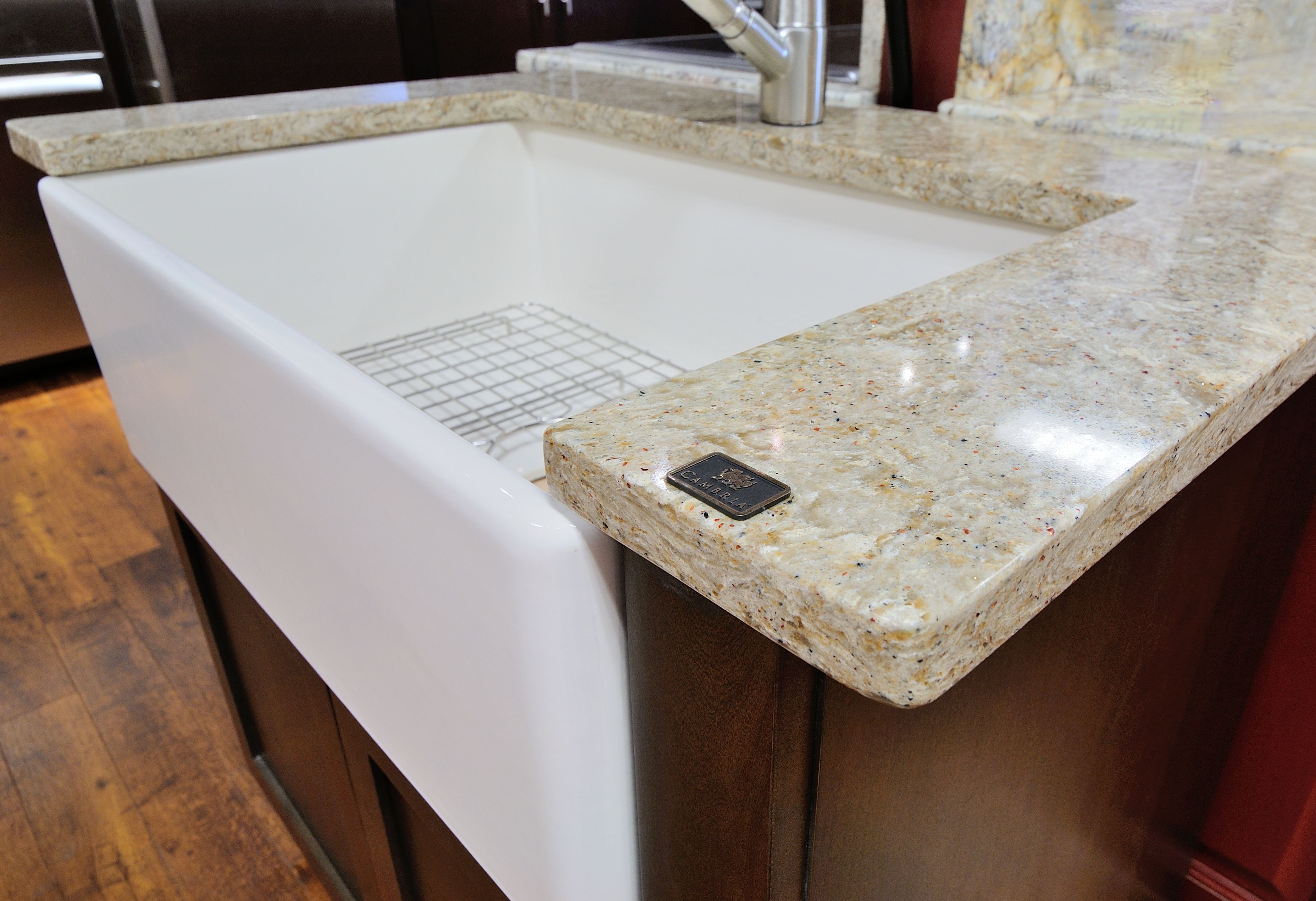 Cambria Berkeley countertop by Atlanta Kitchen in Sewell Showroom