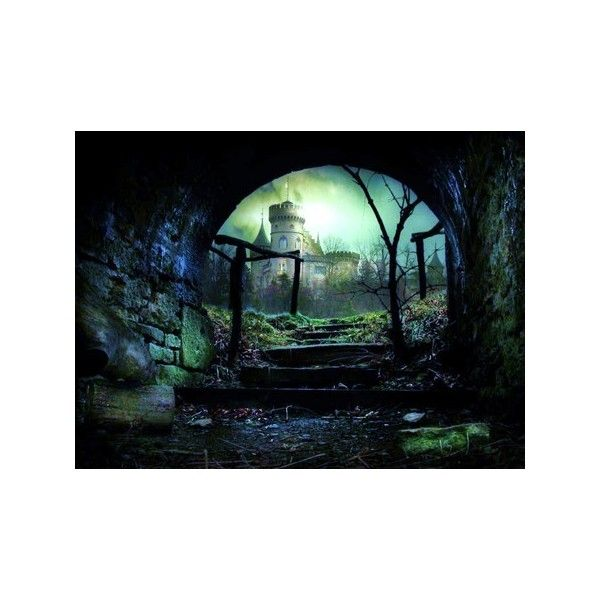 Castle in the glen - Ancient Wallpaper 404160 - Desktop Nexus... ❤ liked on Polyvore