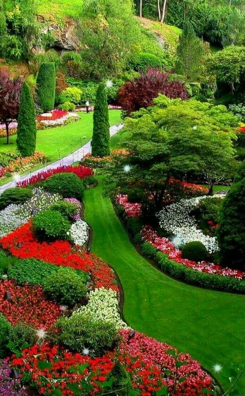 BUTCHART GARDEN Victoria CANADA | Beautiful gardens ...