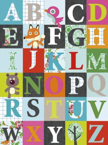 Alphabet Print, $12.99 on Allposters.com
