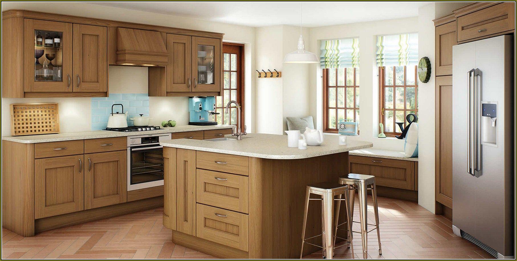 Natural maple kitchen Charming Natural Maple Shaker Kitchen