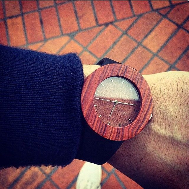 One of our Experiment Selects! See more wooden watches at analogwatchco.com
