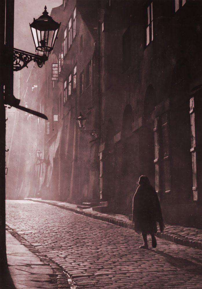 Warsaw, Poland. Evokes a feeling of .... Days gone by, solitude down a village street.