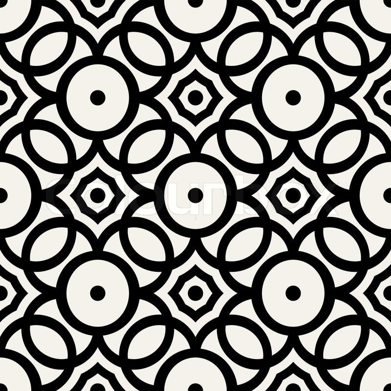 abstract geometric background modern seamless pattern