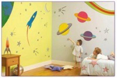 Murales Cameretta Bambini : Cameretta supereroi sd art superfici d autore murales dipinti