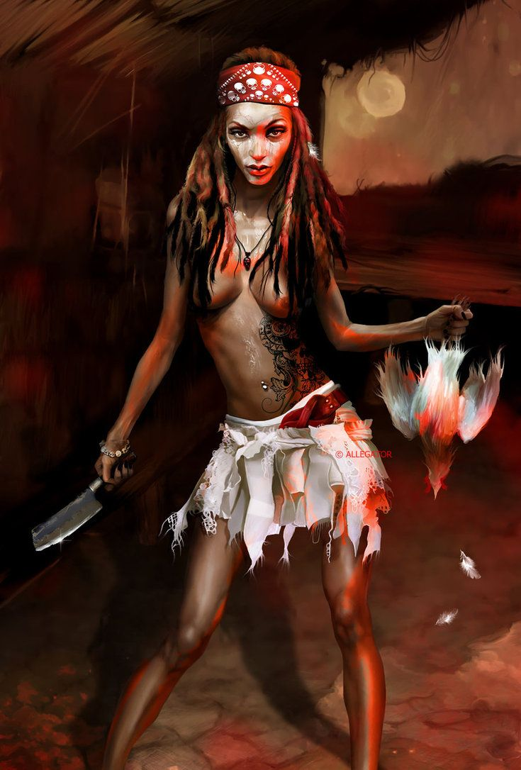 Voodoo Girl | Witchery in 2019 | Witch doctor, Voodoo
