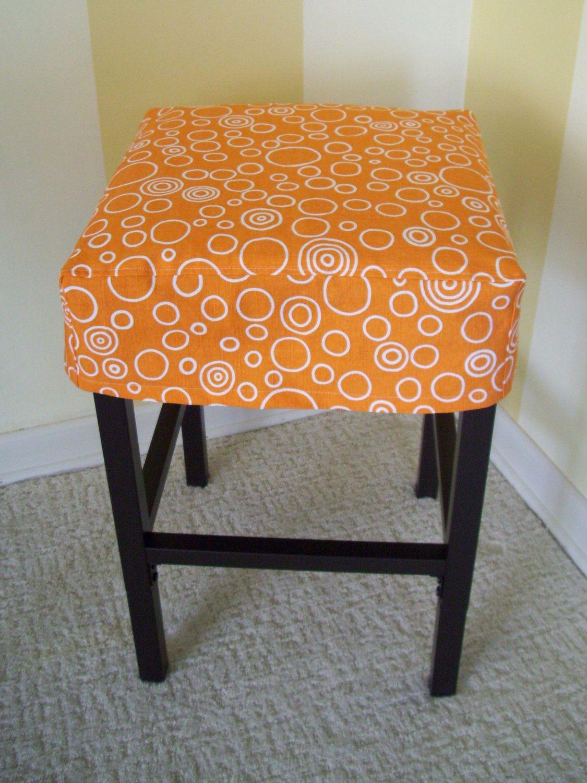 Square Barstool Slipcover Simple Bar Stool Cover | Bar stool ...