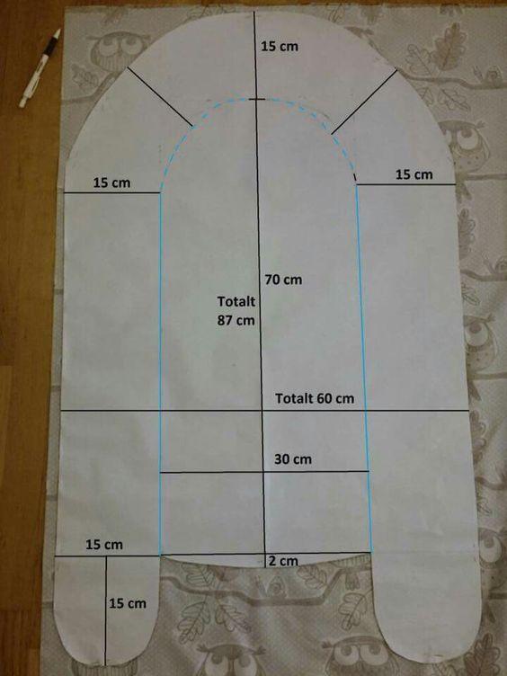 Výsledek obrázku pro swedish baby nest sewing pattern | Projektek ...