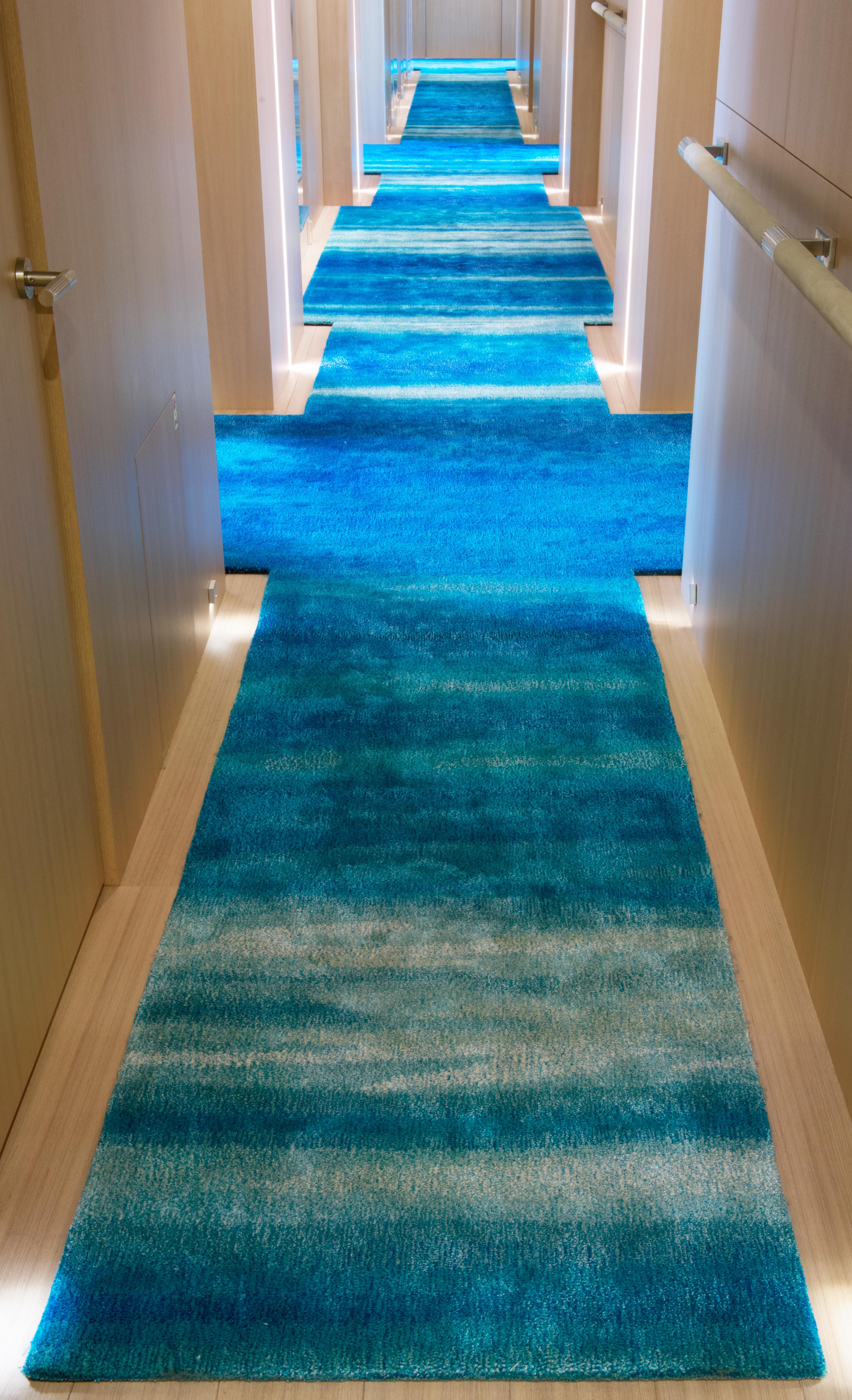 A custom Tai Ping ABYSS rug from the Archive Collection on #luxury ...