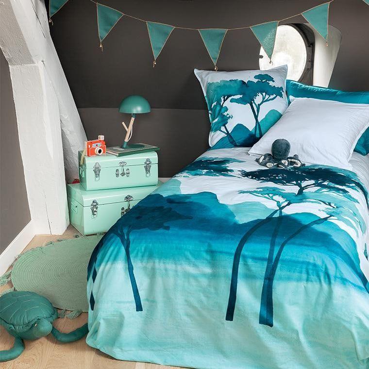 parure de lit enfant percale de coton