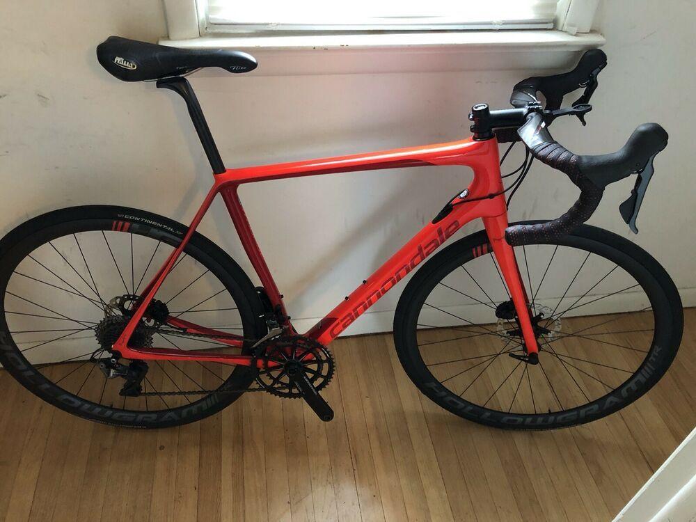 2018 Cannondale Synapse Hi Mod 56cm Dura Ace Disc Brake Carbon Road Bike Carbon Road Bike Cannondale Road Bike