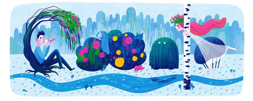 Google doodle navidad 2016