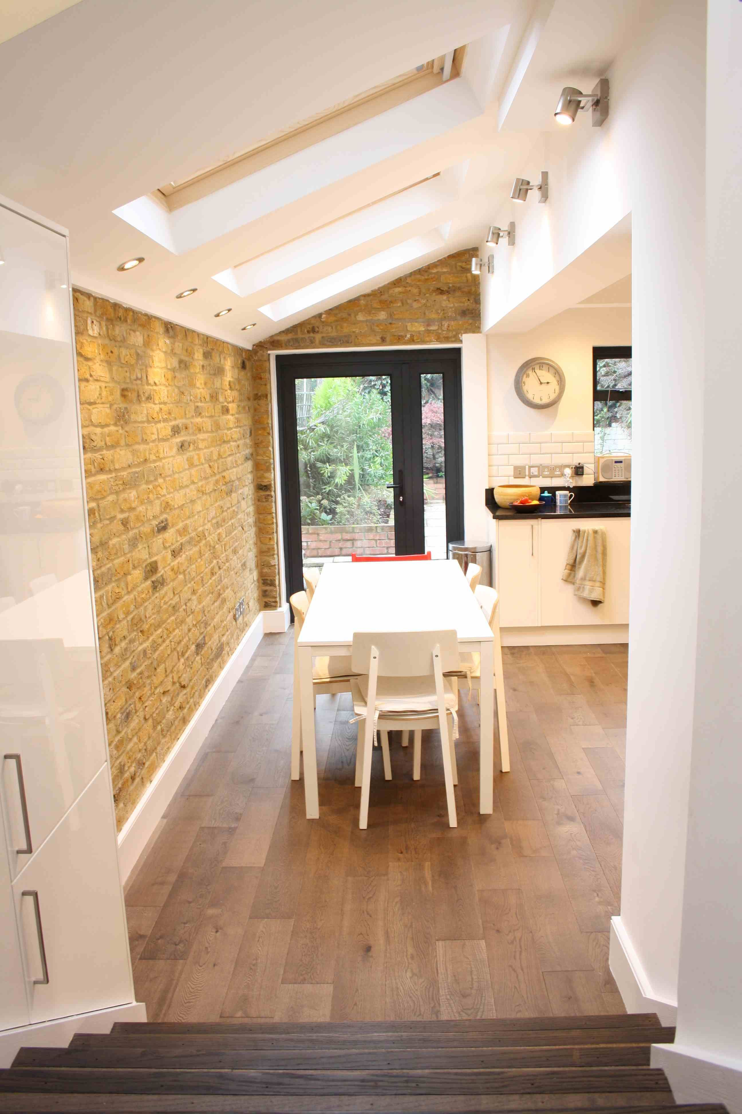steps to kitchen extension extension pinterest extensions side return extension and. Black Bedroom Furniture Sets. Home Design Ideas