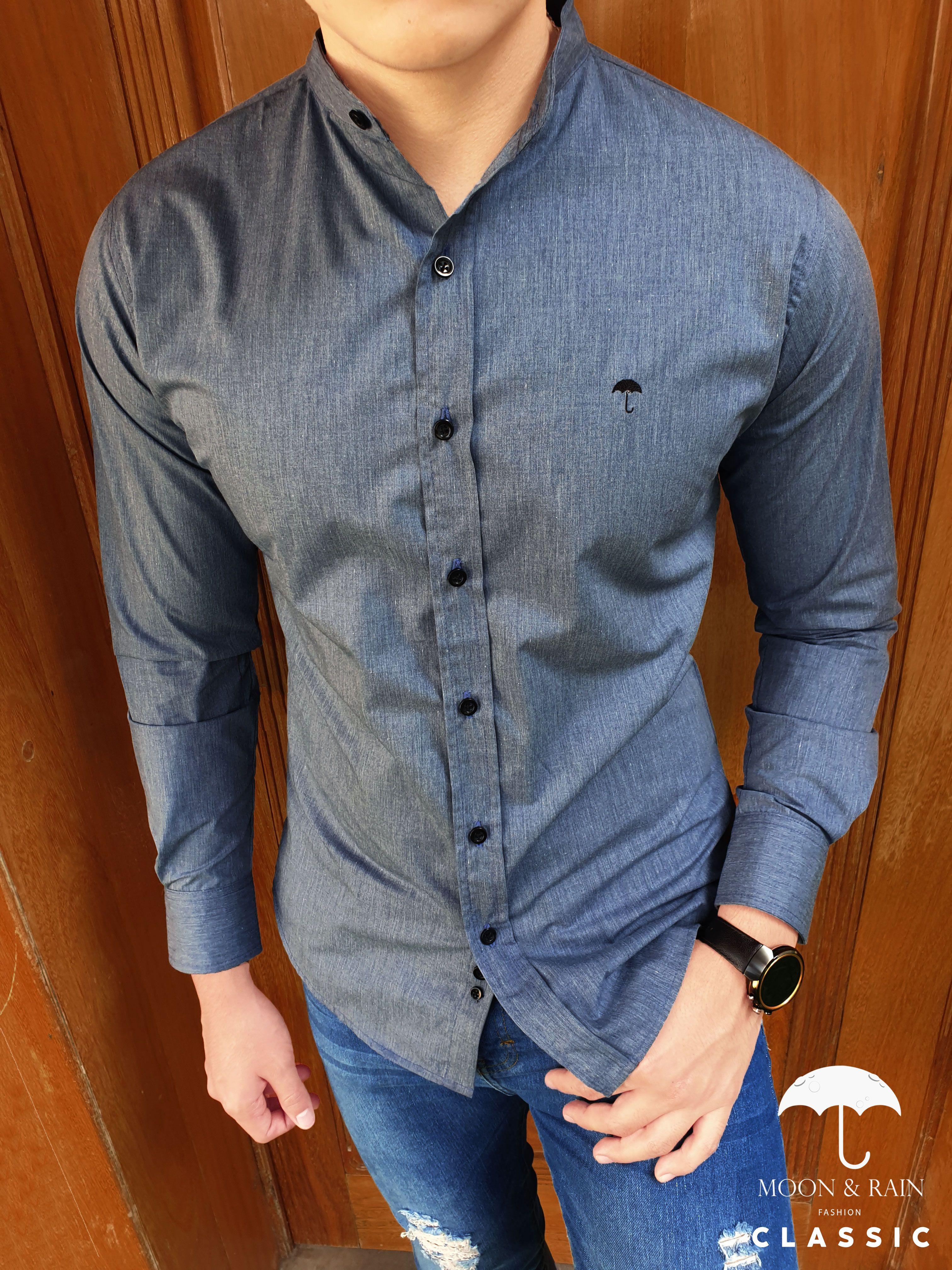 Camisa Oxford Mao Combinacion De Ropa Hombre Ropa De Hombre Casual Elegante Ropa Casual Hombres