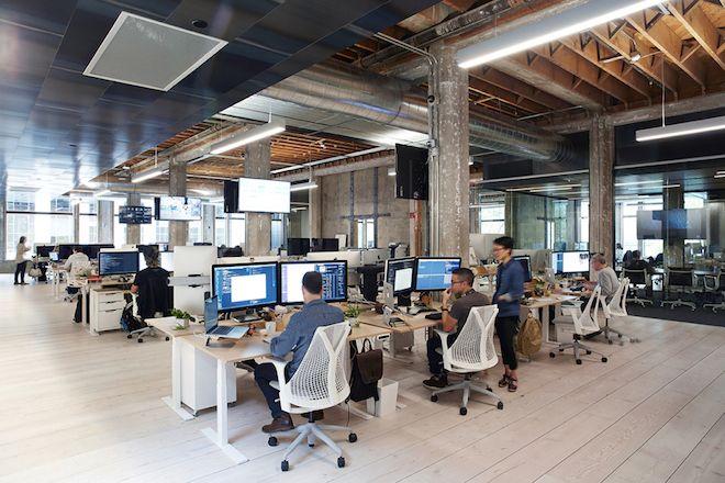 Bureaux open space design: bureaux en open space : plus de fantaisie