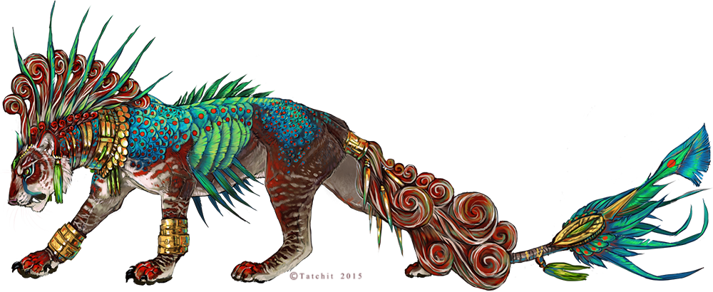 Ocellated Highland Guard by Tatchit