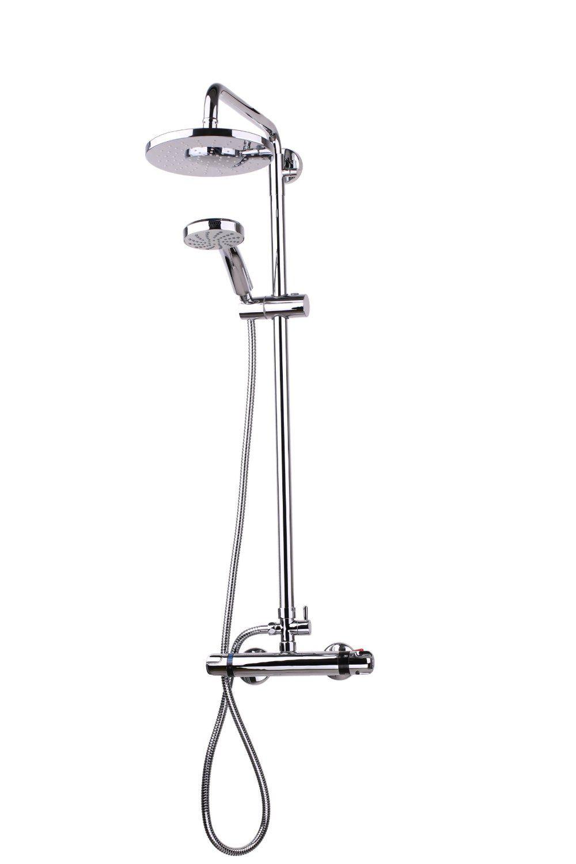 LAVAZZA HOME - Dual Head Thermostatic Bathroom Chrome Bath Shower ...