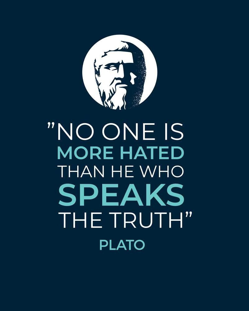 Plato Quote Wise Quotes Life Quotes Plato Print Philosophy Quotes Plato Wall Art Plato Poster Great Quotes Decor Home Decor Typography Art