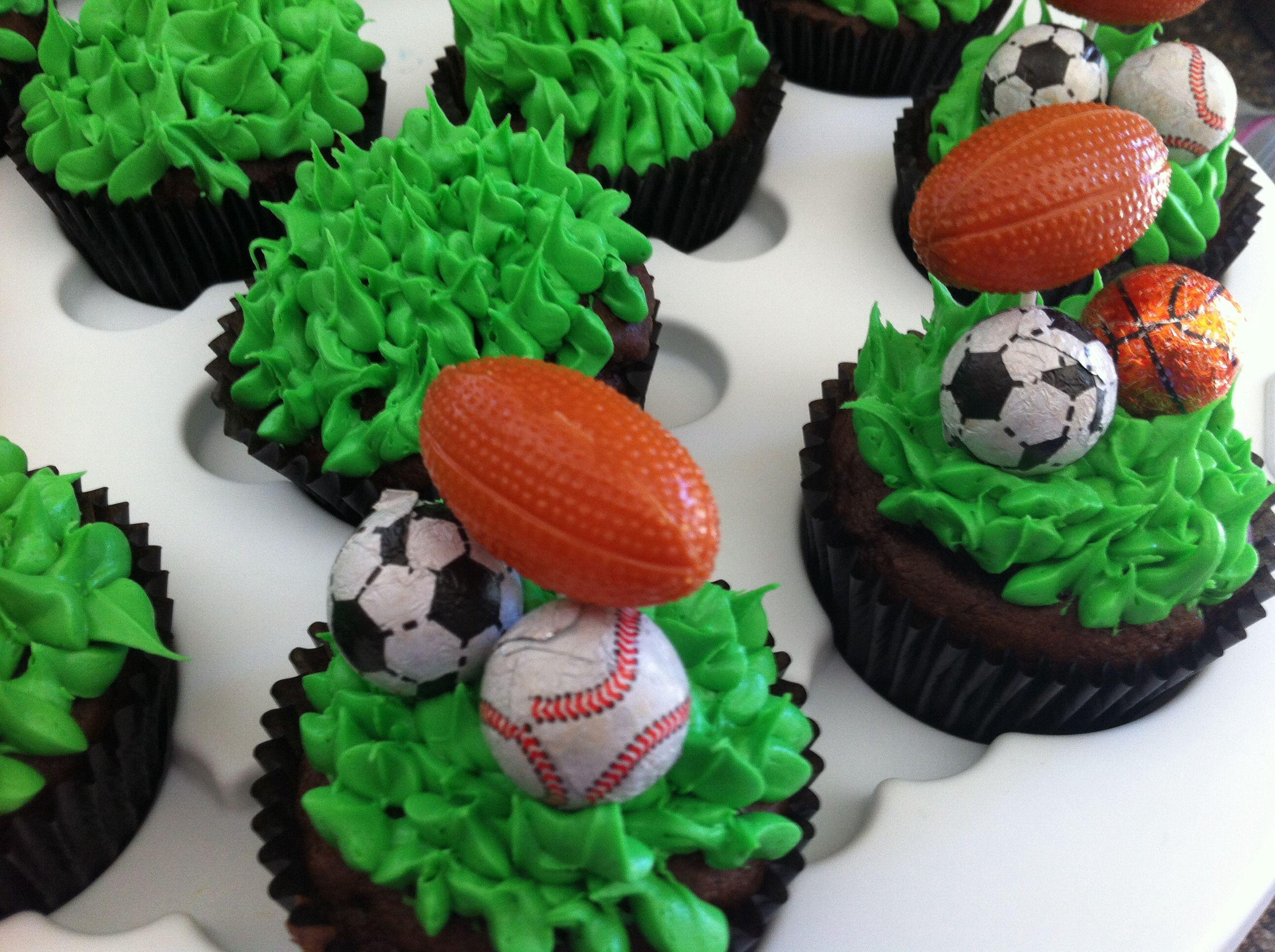Sports Cupcake Ideas 16