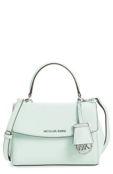 5bd52208017b MICHAEL Michael Kors  Extra Small Ava  Leather Crossbody Bag ...
