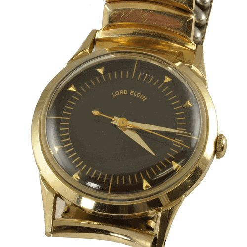lord elgin vintage mens wrist watch 1940 s wrist watches lord lord elgin vintage mens wrist watch 1940 s