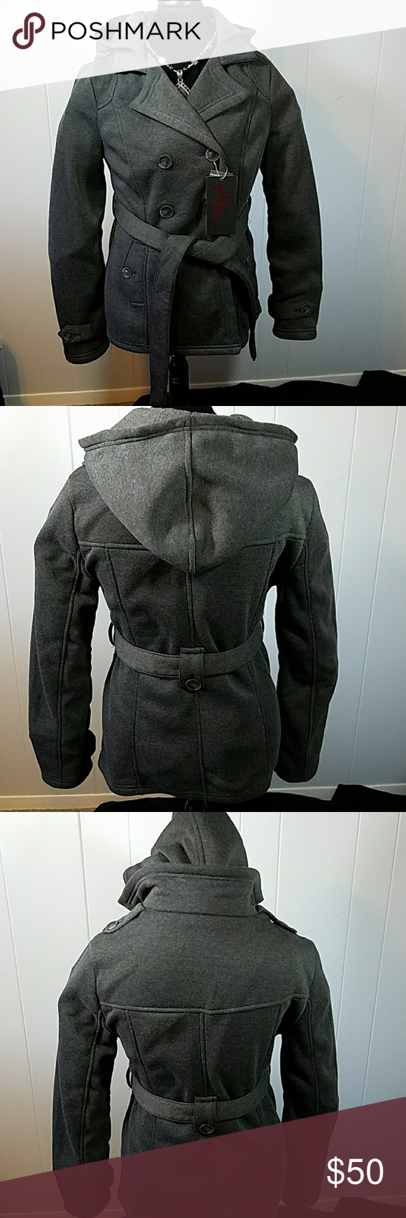 Darling New York Yoki Outerwear Collection Coat Super Cute New York Yoki Outerwear Collection Double Breasted Ho Charcoal Jacket Clothes Design Fashion Design [ 1740 x 580 Pixel ]