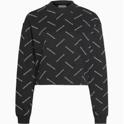 Photo of Kurzes Sweatshirt von Calvin Klein mit vollem Xl Calvin KleinCalvin Klein-Logo